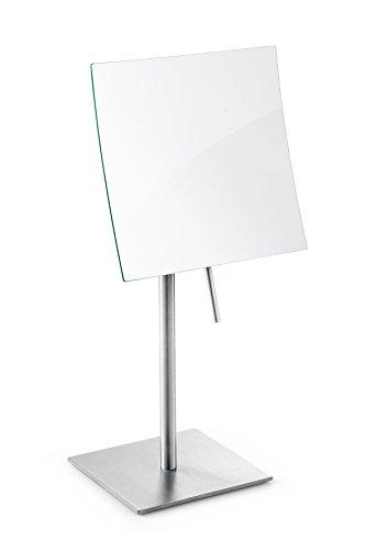 Zack 40013'XERO Kosmetikspiegel, Edelstahl matt