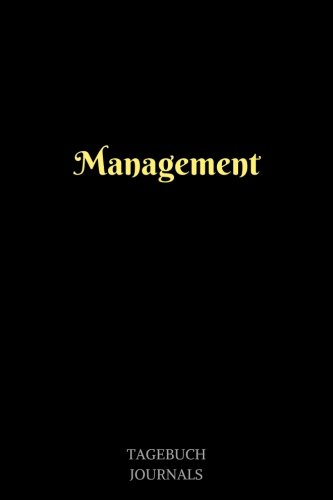 Management: Management Journal, Notizbuch, Linierte Seiten, 6x9 Inch