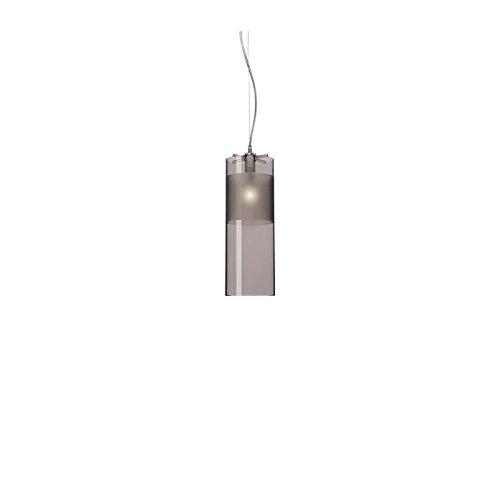 Kartell Easy Spotleuchten und Leuchtensysteme Polycarbonat E14, grau 13 x 33 x 13 cm
