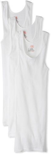 hanes-classics-mens-traditional-fit-comfortsoft-tagless-ribbed-a-shirt-size-m