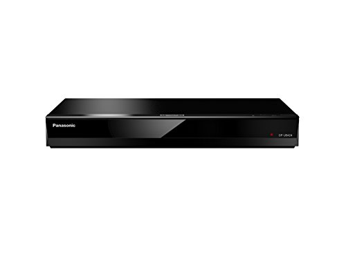 Panasonic DP-UB424EGK Ultra HD Blu-Ray Player in Schwarz (4K Blu-Ray Disc, 4K VoD, DLNA, 2X HDMI, USB)