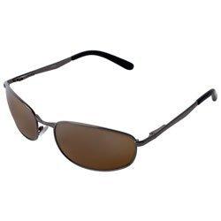 Icon Eyewear Sonnenbrille Unisex Pro Treiber Serie 2Pack Aviator Style-Objektiv mit Schwarz Gun Metall Rahmen, Braun, Nicht verfügbar