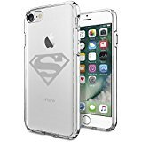 Superman Coque iphone 7 Coque case,Superheros Series DC comics Superman ClearSoft Coque case for regular Coque iphone 7 4.7""
