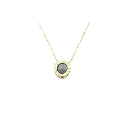 Karat Für Gold Frauen 14 Halskette (Twinmond Halskette aus 14Karat vergoldetem 925er-Silber für Mädchen und Frauen, Geschenk)
