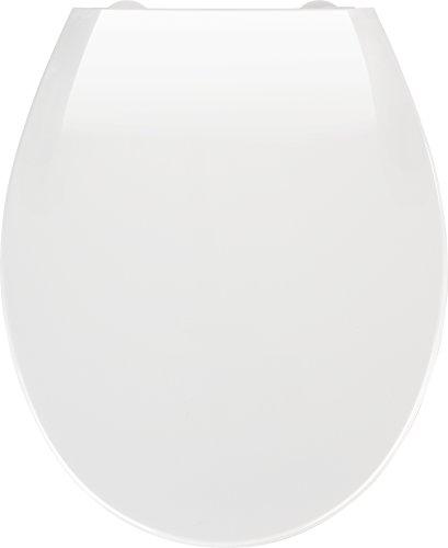 Wenko 21901100 Premium WC-Sitz Kos - mit Absenkautomatik, Kunststoff - Thermoplast, weiß