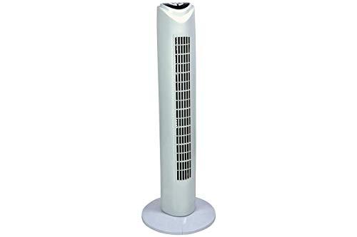 MERCURY - Ventilador automático de Torre Blanco con Mando a Distancia, Temporizador Potente y silencioso...