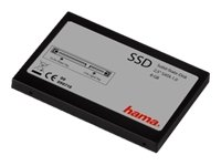 "Hama Solid State Disk (SSD) Flash Memory Hard Drive, 8 GB, 2.5"" SATA - internal solid state drives (8 GB, 2.5"" SATA, 69 mm, 100 mm, 9 mm, 63 g)"