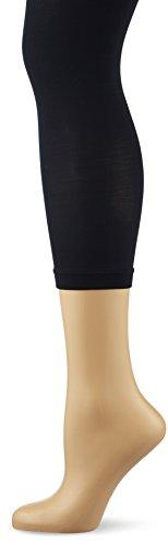KUNERT Damen 3/4 Leggings Velvet, 40 Den, Blau (Marine 0880), 36/38