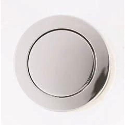 Macdee KARA SYG608CP - Botón pulsador de válvula de descarga neumática para cisterna (72 mm, botón individual)