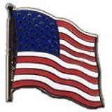Pin's (épinglette) Drapeau USA Etats-Unis - 2 x 2 cm