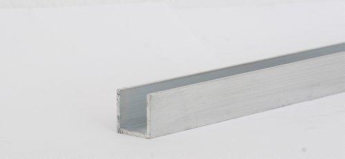 Aluminium U-Profil Länge 500mm 40x70x40x4