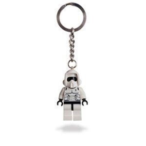 LEGO Star Wars Biker Scout Key Chain 852842 by LEGO
