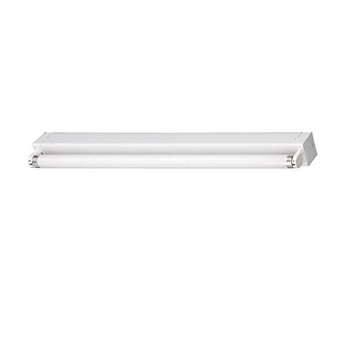 T8 Deckenleuchte (Briloner Leuchte Economytec Röhre 1x18 W Leuchtstofflampe Lichtleiste Bürolampe Deckenleuchte 1 x T8 kaltweiß)