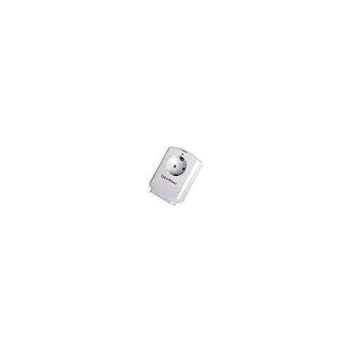 CYBERPOWER B01WSAO-DE-W EMI RFI Rauschfilter 1050 Joules Elektromagnetischer Geraeteschutz kompaktes Design LED-Status