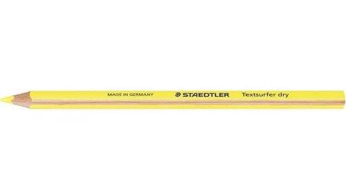 Preisvergleich Produktbild STAEDTLER Trockentextmarker Textsurfer dry, gelb VE=3