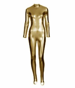 Gold Full Body Jetson Catsuit