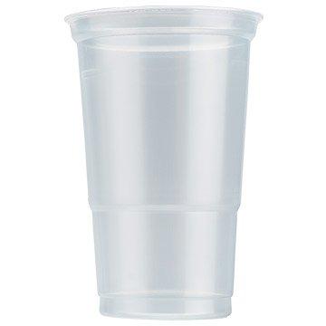 Riutilizzabili in plastica trasparente di alta qualità 20x una pinta bicchiere di vetro (cl) per barbecue, party, outdoor catering event.
