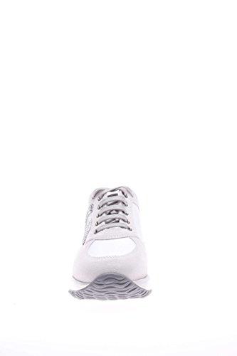 Hogan - Interactive - HXW00N020114G69999 - Baskets à strass - Femme Blanc Cassé - blanc