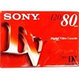 Sony mini DV Digital Video cassette 120LP 80min.