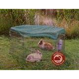 Freigehege Freilaufgehege Freilauf 6-Eck für Meerschweinchen und Zwergkaninchen