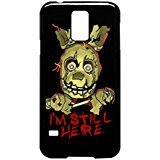 Five Nights At Freddy S Springtrap Case Cover / Color Nero Rubber / Device Samsung Galaxy S5