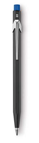Caran D\'Ache CD22.288 - Portaminas con clip 2 mm y afilador en el pulsador,Colores surtido