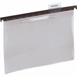 Durable Kunststoffreiter für Hängemappen 2563/2565/2601/2602/2604 60x35mm 2 Zeilen