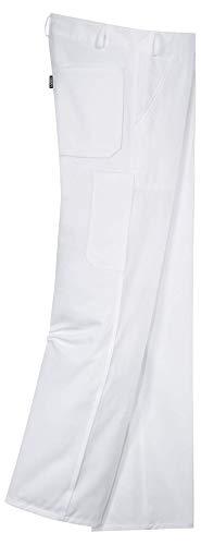 Uvex Arbeitshose Whitewear 127 - Herren-Latzhose für Maler & Tapezierer - Gr 48