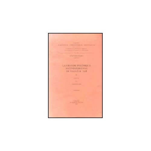 La Grande Polemique Antinestorienne De Yahya B. 'adi, II. Ar. 39.