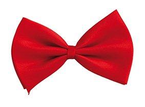 Damen Jigsaw Kostüm - Fliege, 13x9cm, rot