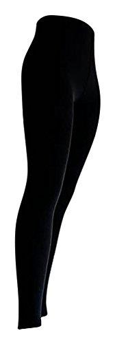 2pezzi Leggings termici nero extra Warm Gherone