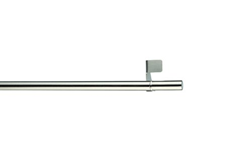 mydeco 65402 Bistro Klemmstange Fit, 50-80 cm, Edelstahl/Optik