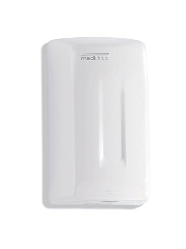 Mediclinics M04A - Smart Flow Automatischer Händetrockner 1100 Watt, Farbe:Weiß