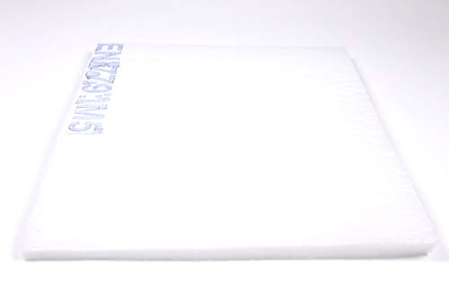 Filtermatte Filtermedium Staubfilter Feinfilter F5 (neu M5) ca. 2m x 1m - Dicke ca. 15-20mm ca. 360g/m² Ersatzfilter Luftfilter Filter Feinfilter Pollenfilter zum selber Zuschneiden