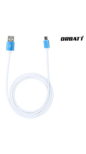 ORBATT 2.4A Fast Charging and Sync Micro USB Data Cable Compatible for Lava Arc 1+ (Metal Connector Casing, 1 Meter cable, Hi-Speed Data Transfer)  available at amazon for Rs.249