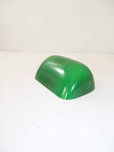 arterameferro Ersatzglas für Lampe Ministerieller klein Messing Dachziegel grün 15cm x 10cm