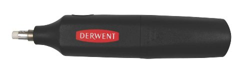 Derwent 2301931 Battery Operated Eraser with 8 Replacement Erasers
