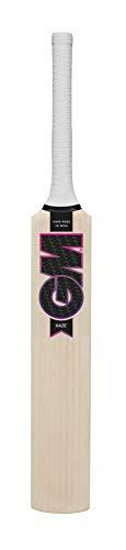 Gunn & Moore Unisex Haze Fledermaus, Weiß/Violett/Schwarz, Miniatur - Cricket-fledermäuse Gm