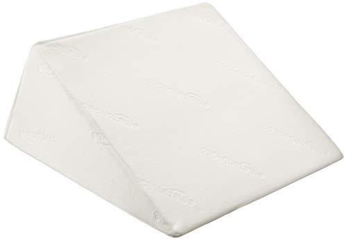 AmazonBasics - Bett-Keilkissen aus Memory-Schaumstoff - 61 x 61 x 18 cm