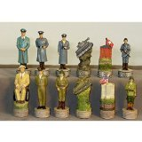 World War 2 Resin Chessmen