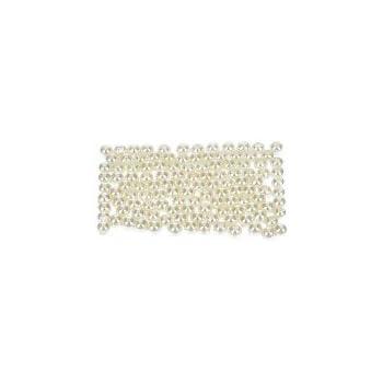 efco Wachs Perlen, Kunststoff, Kultur, 4mm Durchmesser, 125-piece