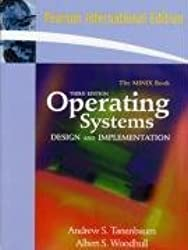 Operating Systems Design and Implementation by Andrew S Tanenbaum (2008-07-11)
