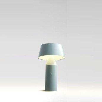 "Marset-lámpara de mesa LED inalámbrica""bicoca '(azul claro)"