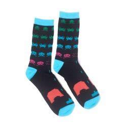 Preisvergleich Produktbild Unbekannt Space Invaders Sock In Game Crew s Black-43 / 46