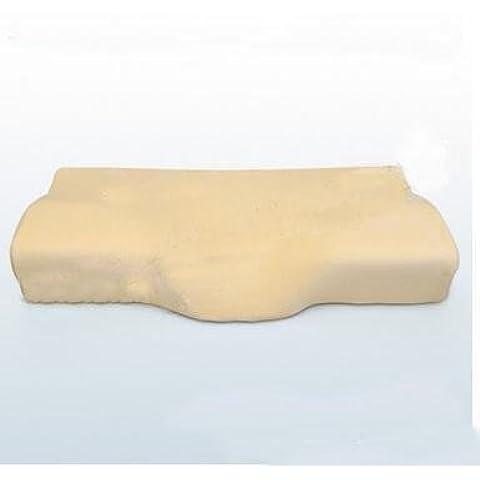 desy rimbalzo lento oblunga massaggi cuscino cotone memoria spazio design unico orecchio manicotto, cervicale Sleep giallo
