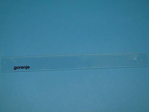 Pezzo di ricambio originale Gorenje DAMPF-FANGFEGFEMMEN BLECH-GLAS