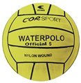 Ballon de water-polo N ° 5 jaune