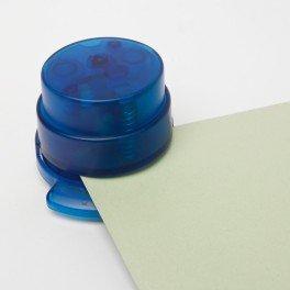 Ecosavers Heftgerät klammerlos blau ökologisch und wirtschaftliche - 2