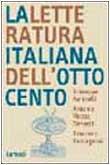 La letteratura italiana dell'Ottocento di Giuseppe Farinelli