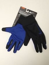 Nike K.O. Thermo-Handschuhe schwarz/Game Royal Blau Athletic Sports Equipment Herren 's Medium, - Nike-thermo Handschuhe
